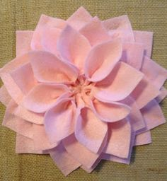 the tutorial for diy flower canvas