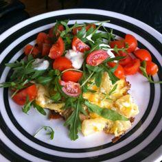 #LCHF LCHF-hverdag: Tre bud på LCHF-omeletter