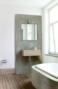 hout in de badkamer 5