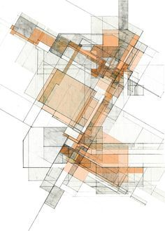 UF Architecture - John Fechtel B.Design in Architecture 2015 Architecture Concept Drawings, Architecture Sketchbook, Architecture Graphics, Architecture Plan, Urbane Kunst, Plan Drawing, Conceptual Design, Abstract Drawings, Geometric Art