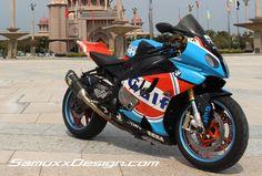 BMW S1000RR Gulf « Samuxx Design