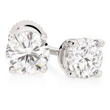 1 Carat TW Diamond Stud Earrings