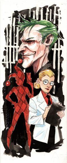 The Joker & Harley Quinn by Dustin Nguyen