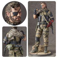(affiliate link) Metal Gear Solid V: The Phantom Pain Venom Snake 1:6 Scale Statue