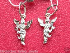 Значок Трейлер Guardian Angel Серебряный кулон с Ангелом хранителем серебро 925 1,7x1cm