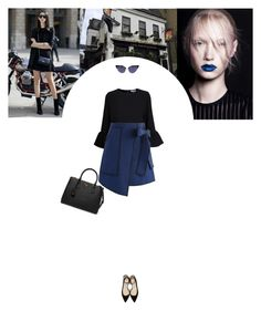 """Untitled #259"" by soledestate ❤ liked on Polyvore featuring Ganni, Chicwish, Jimmy Choo, Prada and RetroSunglasses"