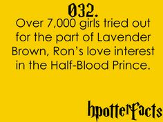 Harry Potter Facts #032