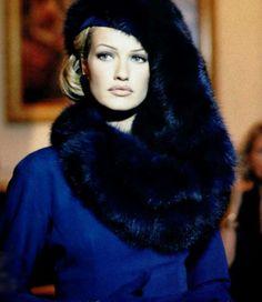 Karen Mulder in Christian Dior, 1992