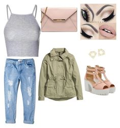 A fashion look from August 2015 featuring shirt crop top, green zip jacket and destructed boyfriend jeans. Browse and shop related looks. Mango Shoes, Boyfriend Jeans, Fashion Looks, Glamour, Crop Tops, Polyvore, Jackets, Shirts, Shopping
