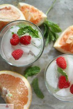 Grapefruit Mint Vodka Cocktail