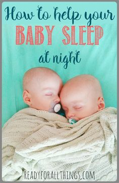 These 5 tips and tricks to help your baby sleep through the night will restore your hope that you will soon be able to rest again. What an exhausted mom needs most post pregnancy is a newborn sleep training schedule and a lot of support. Good luck!