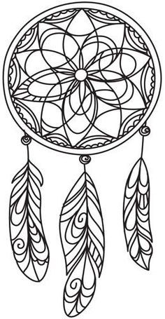 87 best dream catcher color pages images on pinterest in 2018