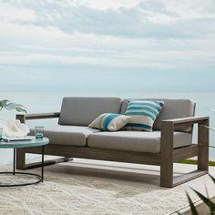 Portside Outdoor Sofa - Weathered Gray