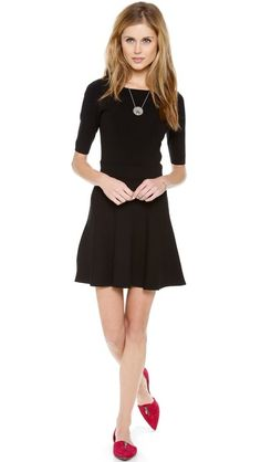 Club Monaco fit-and-flare dress.