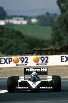 """""""forget everything after, the 1986 turbo cars, really was rockets … and to handle them, I think, you had to be a man"""" * Elio de Angelis, Olivetti Brabham-BMW BT55, 1986 Spanish Grand Prix, Jerez de la Frontera * Gerhard Berger"""