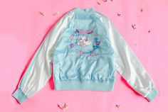 Bread-And-Butter Pretty Kitten Jacket-Blue