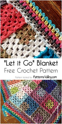 Let it Go Crochet Blanket Pattern