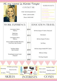 My creative cv Writing An Application Letter, Creative Cv, Resume, College, Facts, Lettering, Education, Life, University