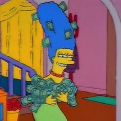 Image uploaded by spoopyseasons. Find images and videos about money, the simpsons and simpsons on We Heart It - the app to get lost in what you love. Cartoon Memes, Cartoon Icons, Cartoons, Funny Reaction Pictures, Funny Pictures, Cartoon Profile Pictures, Photo Wall Collage, Vintage Cartoon, Meme Faces