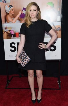 Natasha Lyonne donned a simple short-sleeve LBD for the New York premiere of 'Sisters.'