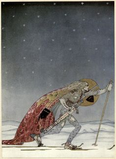 East of the Sun and West of the Moon: Old Tales from the North (public library; public domain) — a collection of Scandinavian fairy tales, illustrated by Danish artist Kay Rasmus Nielsen (1886-1957)