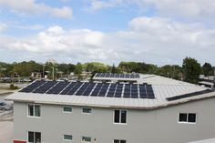 Fort Myers Broadway Apartments Solar Water Heating Systems - North Building