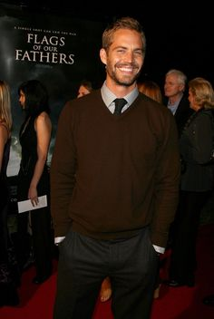 Pin for Later: Look Back at Paul Walker's Best Hollywood Moments  He walked the red carpet at the premiere of his film Flags of Our Fathers in LA in October 2006.