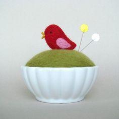 Now this is a cute pincushion.