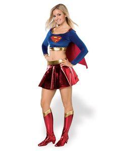 Supergirl Teen Costume