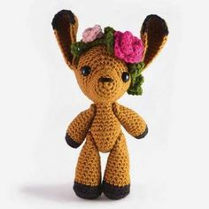 Flora the Fawn amigurumi crochet pattern by sarsel