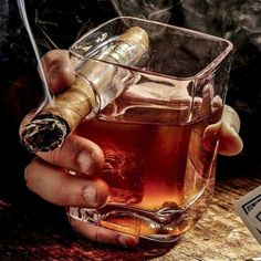 Buy Fashion Originality Cigar Cup Transparent Wine Glass for Men's Fashion Cigar Ashtray Whisky Cup Home Weddine Deco Party Supplies Christmas Deco Gifts at Wish - Shopping Made Fun Good Cigars, Cigars And Whiskey, Pipes And Cigars, Whiskey Drinks, Scotch Whiskey, Whiskey Lounge, Whiskey Glasses, Cigar Ashtray, Cigar Bar