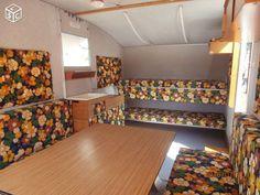 Caravane pliante Retro Caravan, Camper Caravan, Campers, Retro Camping, Decoration, Glamping, Retro Vintage, Folder, Stairs