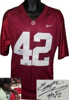 Eddie Lacy Autographed Hand Signed Alabama Crimson Tide Adidas Maroon Jersey  XL- Lacy Hologram 5ead7d8cb
