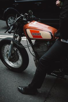 Yamaha #motorcycles #caferacer #motos   caferacerpasion.com