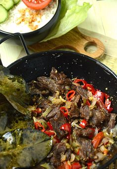 Dutch Recipes, Beef Recipes, Indonesian Food, Pot Roast, No Cook Meals, Spicy, Meat, Cooking, Ethnic Recipes
