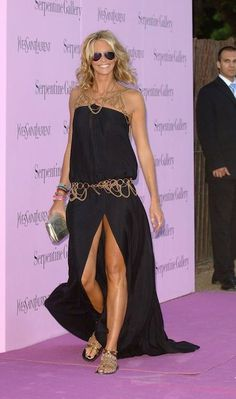 elle mcpherson fantastic dress