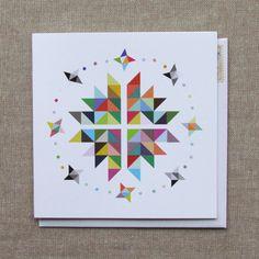 geometric card - the nimbus factory