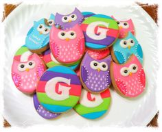 Owl cookies | Cookie Connection