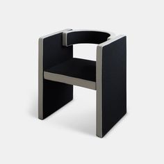 The Novel Chair was designed with simplicity, elegance, and confidence in mind. Its clear elements are combined into a sophisticated geometric abstraction, with rectangular pieces that join to the C-shaped back in a distinctive way. Furniture Decor, Confidence, Join, Lounge, Elegant, Chair, Design, Home Decor, Airport Lounge