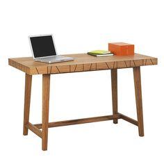 Vass Desk by Asplund Dark Smoke, Linear Pattern, White Stain, Solid Oak, Drawers, Desk, Colours, Table, Furniture