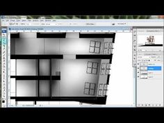 Architectural Illustrations: Quick Sections - Using your Sketchup model and Photoshop