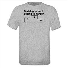 T-shirt Training is hard