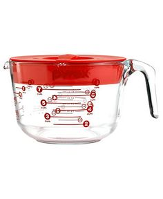Pyrex 8 Cup Prep And Store Measuring Cup With Lid