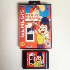 Fix-It Felix on Sega Genesis ;)