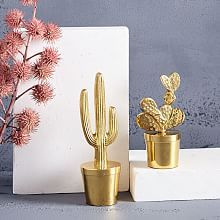 "Bring a touch of desert style to shelves and consoles with our Cactus Snow Globe. Shake the globe to shower the cactus in sparkly glitter ""snow. Home Decor Accessories, Decorative Accessories, Decorative Objects, Decorative Pillows, Decorative Accents, Decor Pillows, Agate Bookends, Modern Sculpture, Bedding Shop"