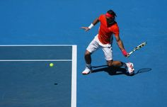 Photo Study of Rafael Nadal's Forehand: Low Ball Square Stance