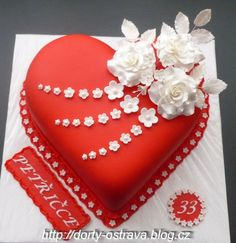 Wonderful Picture of Birthday Cake For Girlfriend . Birthday Cake For Girlfriend Birthday Cake Photos Cakes Sheetcakes Layers In 2018 29th Birthday Cakes, Heart Birthday Cake, Heart Shaped Cakes, Heart Cakes, Cute Cakes, Pretty Cakes, Fondant Cakes, Cupcake Cakes, Cake Pictures