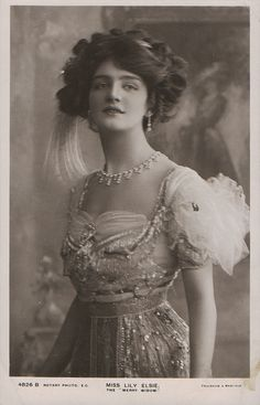 Lily Elsie - Actress and Edwardian Beauty found at http://www.flickr.com/photos/47496164@N03/6731539043/sizes/l/in/photostream/