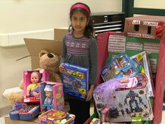 8 Year Old Gives Back To Pediatric Patients at Las Colinas Medical Center.