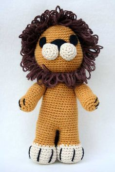 Lion Amigurumi Pattern (scroll down for english pattern) ~ free pattern